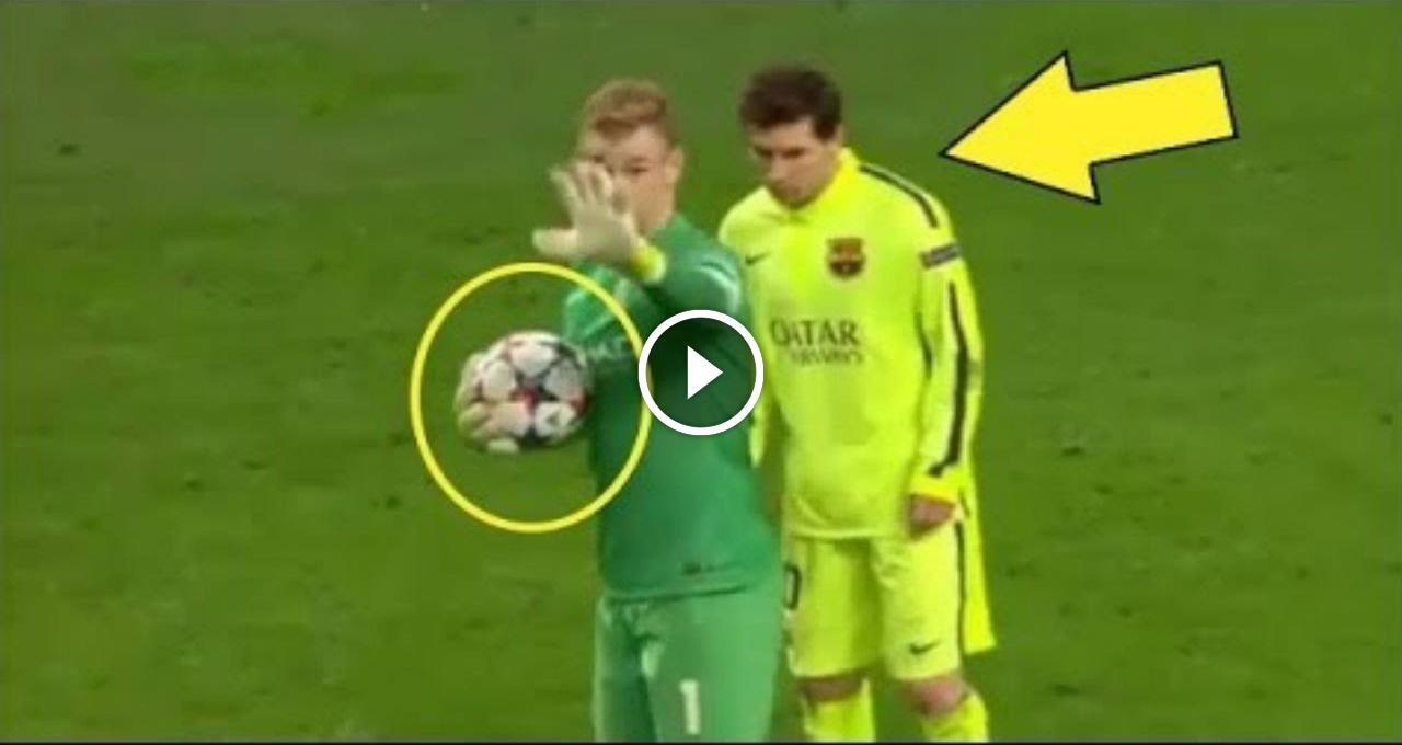 Когда игроки украли мяч у вратаря и забили гол - Самые смешные нежданчики в футболе