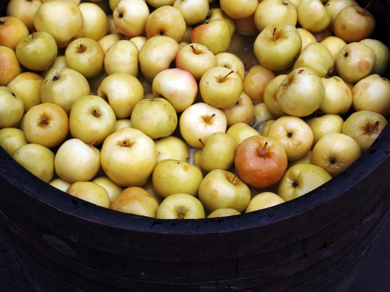 моченые яблоки дома