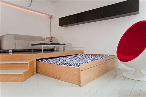 Кровать с подиумом фото