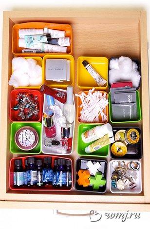 Идеи для хранения мелких предметов