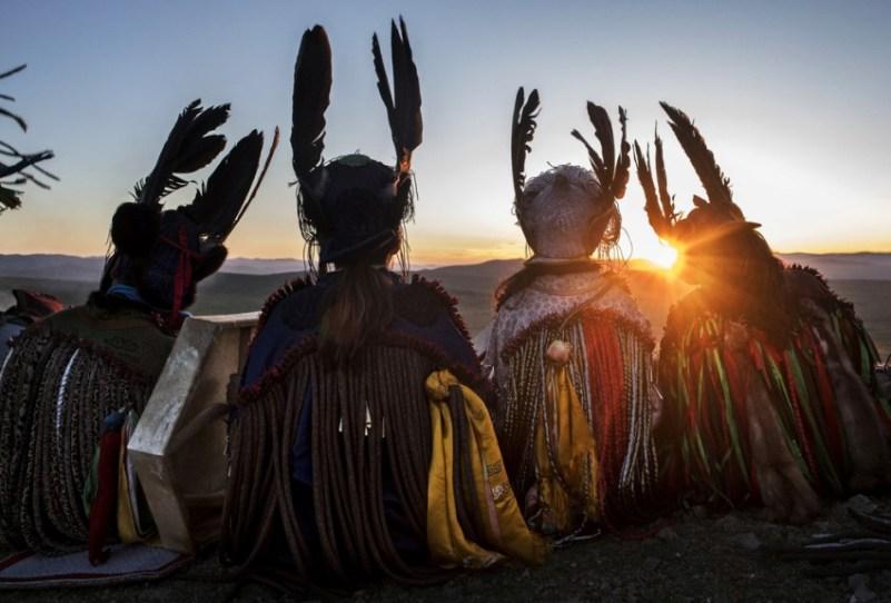 Возрождение шаманских ритуал…