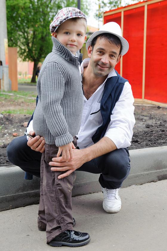 Дмитрий Певцов гордится, что у сына торчат уши