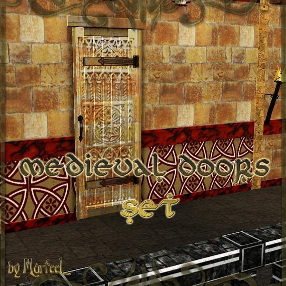Medieval Doors Set от murfeel
