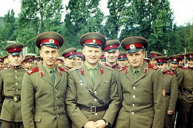 Тест из 12 частей на уровне офицера Советской Армии
