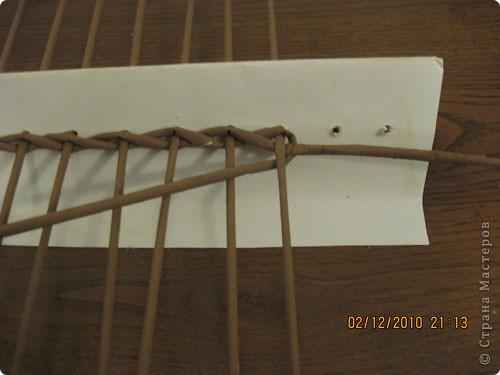 Мастер-класс,  Плетение, : Плетение квадратной (прямоугольной ) коробки Бумага газетная . Фото 4