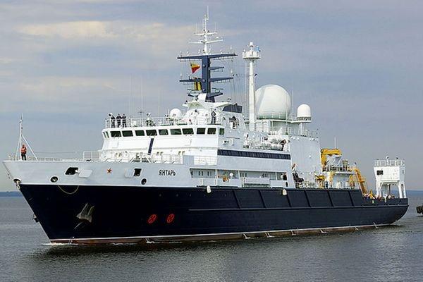 Российское судно «Янтарь» прибыло врайон поисков подлодки «Сан-Хуан»