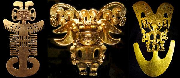У ацтеков было очень много золотых артефактов
