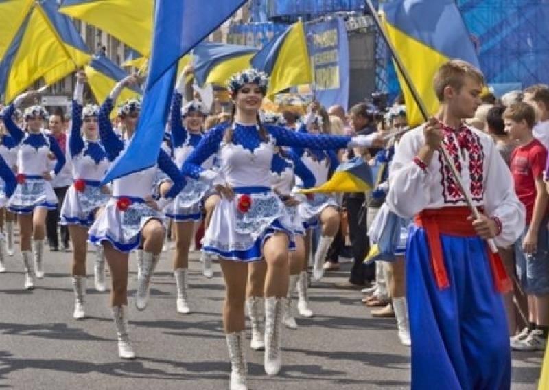 Ко дню Независимости в Киеве выложат гигантский герб из ягодиц