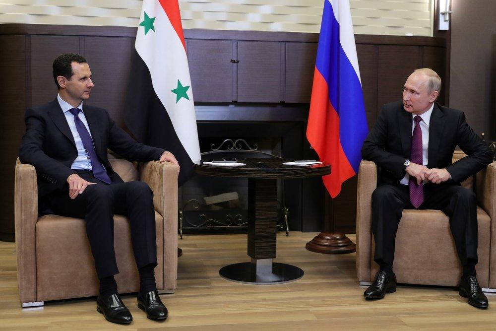 Путин и Асад согласовали действия по борьбе с терроризмом в Сирии