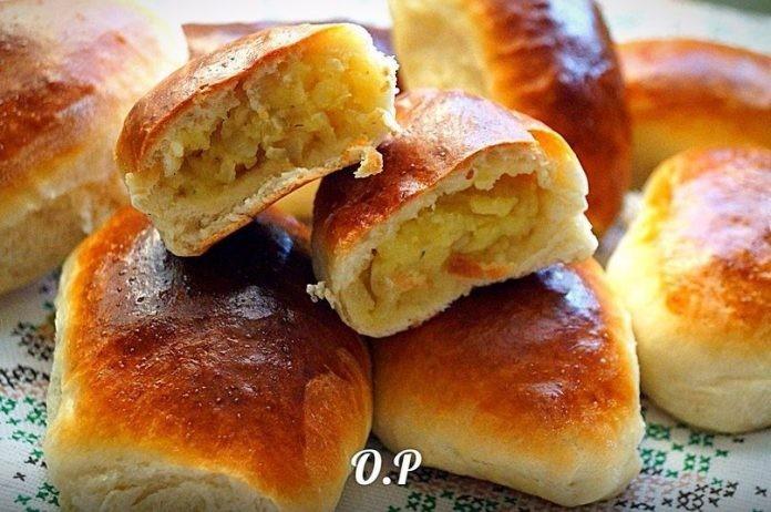 Готовьте смело — Пирожки с картошкой и жаренным лучком