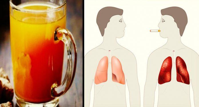 Напиток, очищающий легкие, который нужно попробовать любому, кто курит или курил