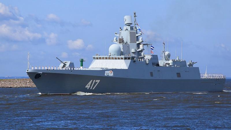 Фрегат «Адмирал Горшков» включен в боевой состав ВМФ РФ