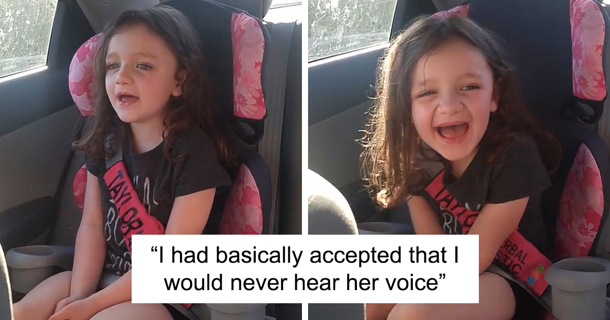 Mom Had Already Accepted That She Would Never Hear Her 5Y.O. Nonverbal Autistic Daughter's Voice, But The Girl Just Said Her First Word