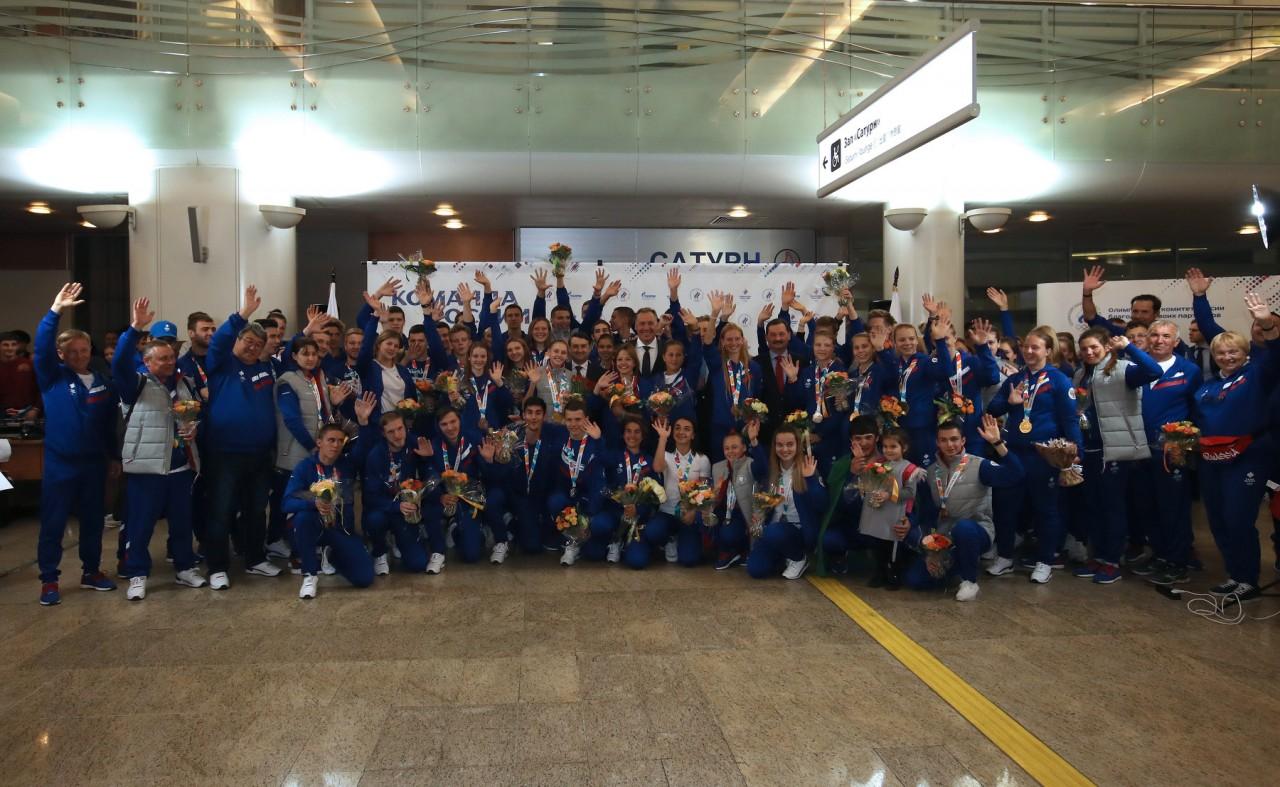 Слава нашим победителям юношеских Олимпийских игр!