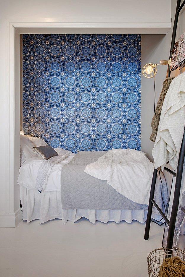 6 идей для  спальни в однокомнатной квартире