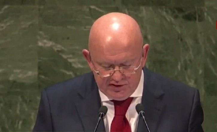 Россия в ООН признала Украину оккупированной