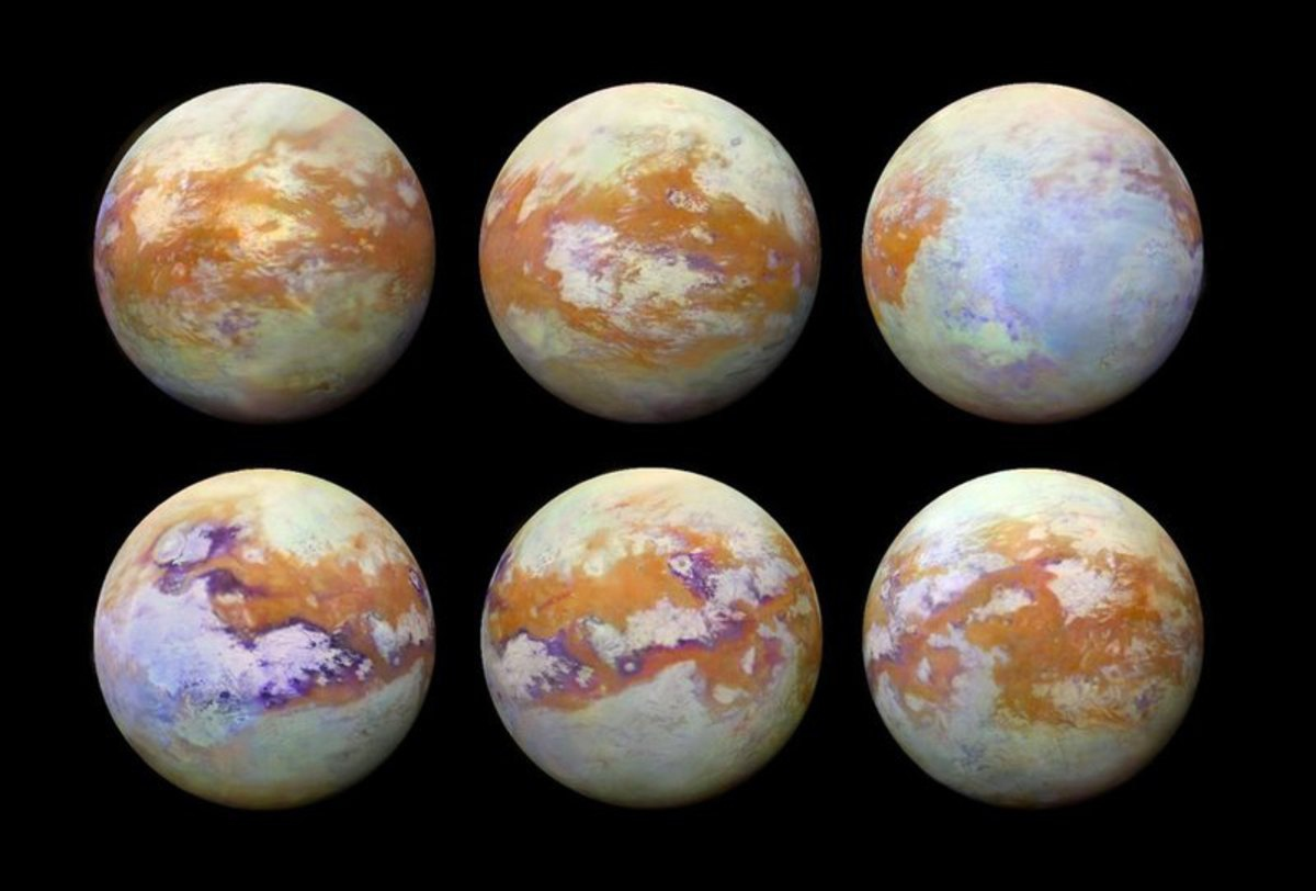 Как появилась атмосфера на Титане