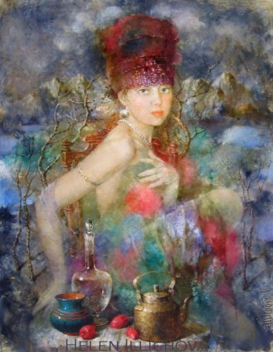 художник Елена Ильичева картины – 18