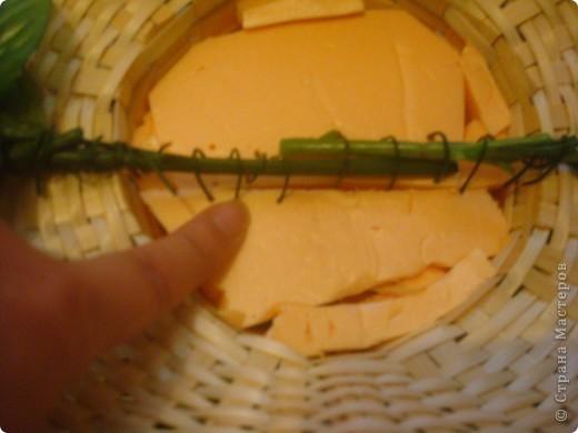 Мастер-класс Свит-дизайн Бумагопластика Мини -МК Сборка и крепление букета ШИК Бумага гофрированная Бусинки Ленты фото 8
