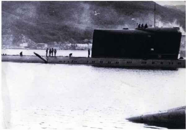 Как советская подлодка К-178…