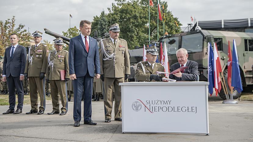 В Польше формируется 18-я механизированная дивизия