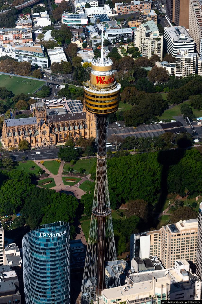 Сиднейская телебашня