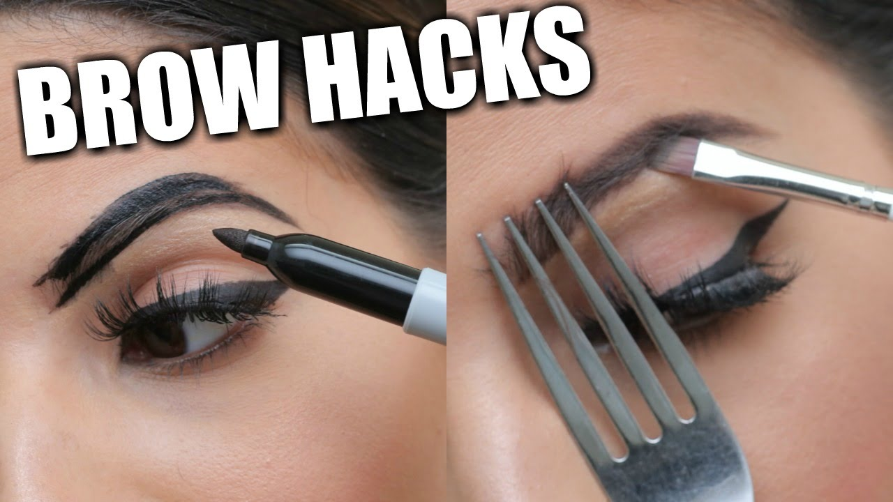Картинки по запросу EYEBROW HACKS That Everyone Should Know!