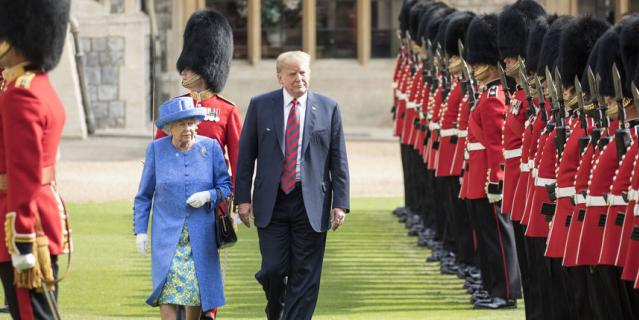 Дональд Трамп признался, какое впечатление произвела на него Елизавета II