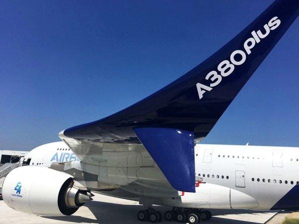 Airbus представил лайнер A380plus