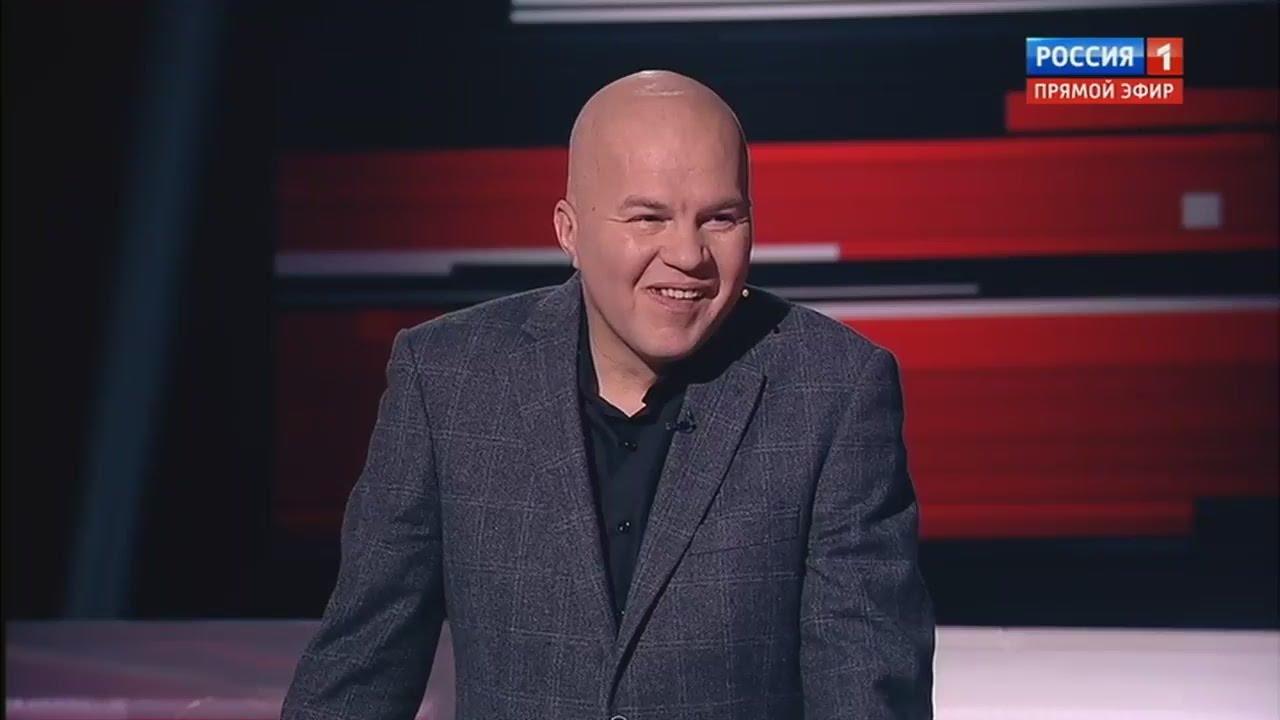 Соловьев выложил вСеть фрагмент спора сукраинским политологом