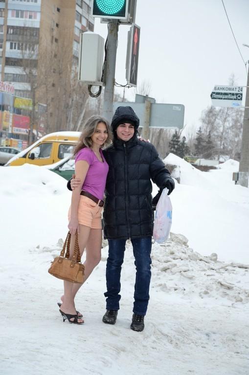 Жительница Тольятти всю зиму ходит в летней одежде и обуви. вы только посмотрите…