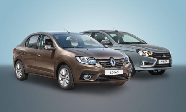 Разные одноклассники: что выгоднее купить – Lada Vesta или Renault Logan?