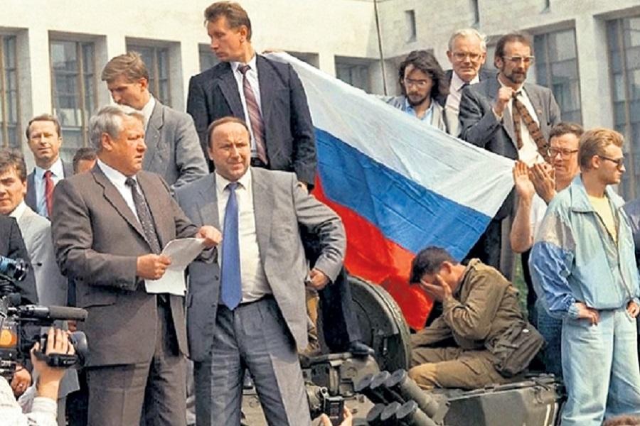 Август 91-го. Ельцынисты дей…