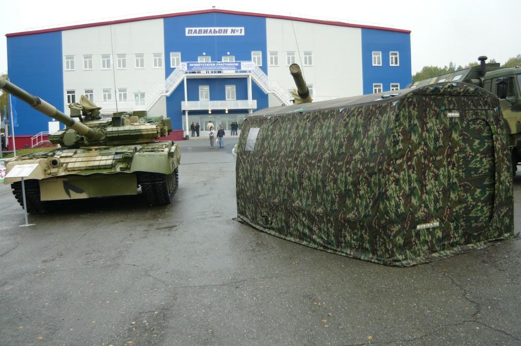 Мобиба и танк Т-90С