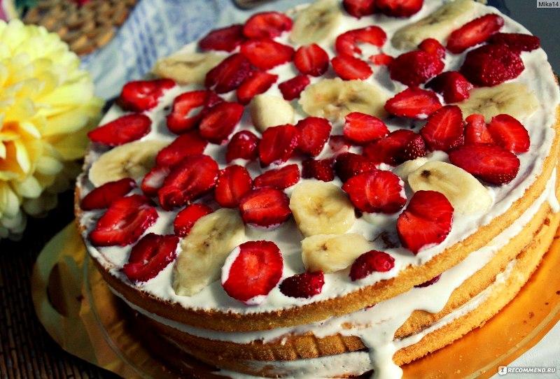 Торт за 15 минут для нежданных гостей!