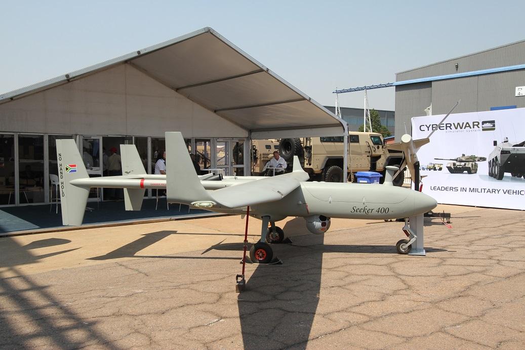 Беспилотные системы на выставке AAD-2018 в ЮАР