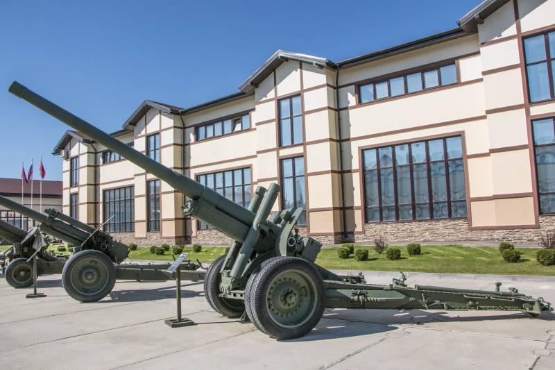 Артиллерия. Крупный калибр. 122-мм корпусная пушка А-19