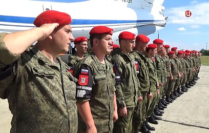 Из Сирии вернулись 100 российских военных полицейских
