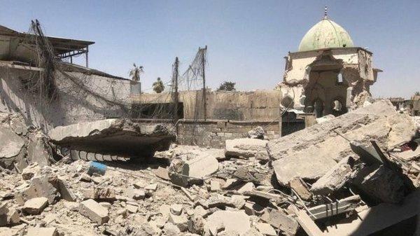Пиар во время чумы - мертвый Мосул после ИГИЛ