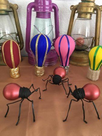 Необычные поделки из лампочек