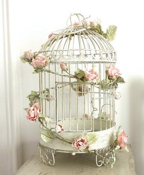 Декоративные птичьи клетки своими руками