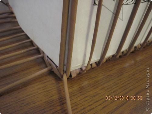 Мастер-класс,  Плетение, : Плетение квадратной (прямоугольной ) коробки Бумага газетная . Фото 18