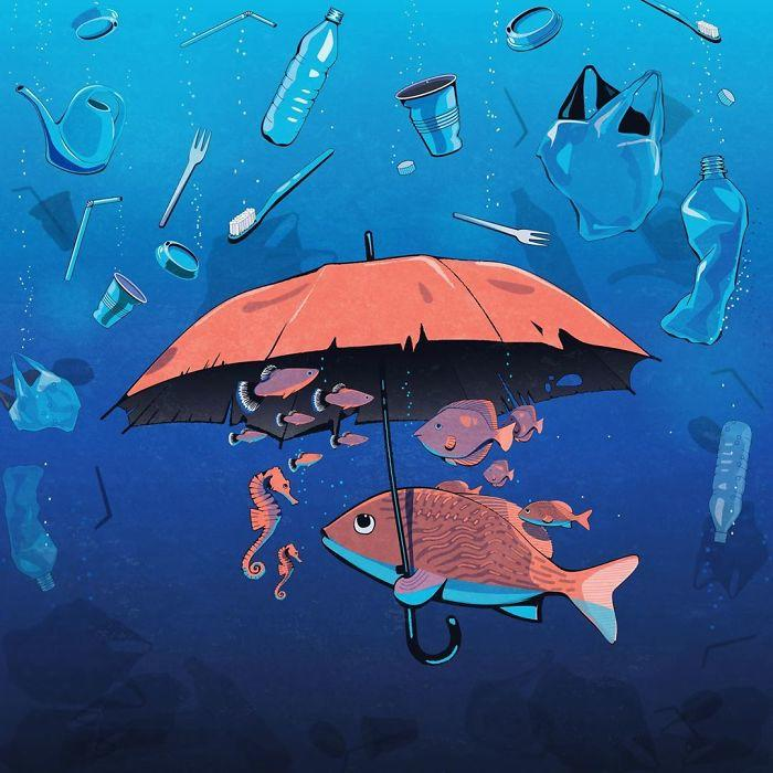 20 откровенно правдивых иллюстраций, освещающих острые проблемы нашего общества