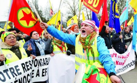 Европейские курды изСтрасбурга призвали ООН остановить войну вАфрине