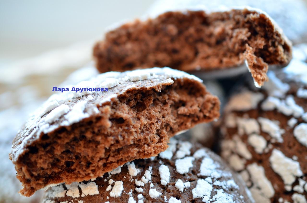 шоколадно-кофейное печенье с корицей теперь