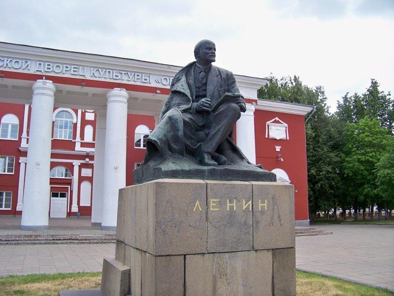 Дедушка Ленин Орша, беларусы, длиннопост, красивые города, лукашенко, путешествия