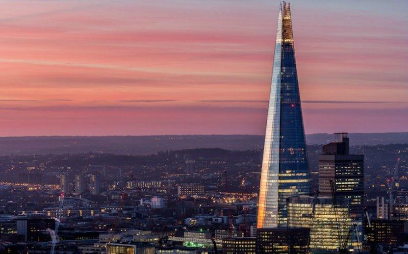The Shard, Лондон, Великобритания красота, небоскребы, самый-самый, строительство, удивительное, фантастика