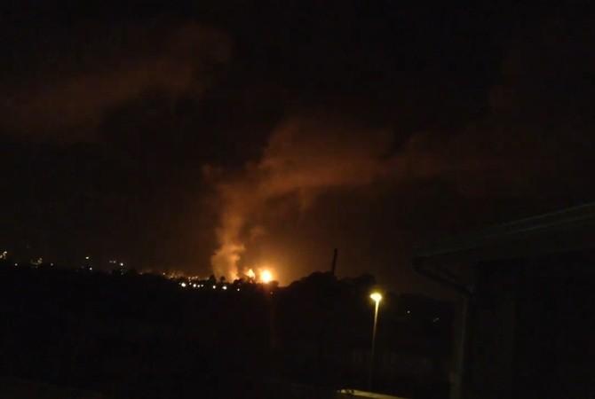 В США горят и взрываются нефтяные заводы и скважины