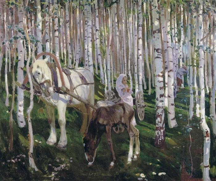 пейзажи художник Аркадий Рылов - 04