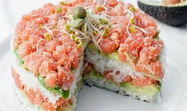 Салат «суши» – невероятно вкусно, не отличить от настоящих!